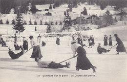 Villars S/Bex - Gymkana Sur La Glace       (P-58-11406) - VD Vaud