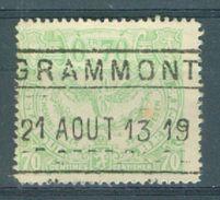 "BELGIE - TR 110 - Cachet  ""GRAMMONT"" - (ref. 13.351) - 1915-1921"