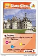 IMAGE POULAIN GRAND CENTRE N°5 INCROYABLE/INSOLITE CHATEAU CHAMBORD - Cioccolato