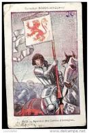 CARTE BOZON VERDURAZ  Série F N°8 Bannières Des Comtes D'Armagnac DRAPEAUX FRANCAIS - Chromos