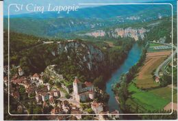 Lot : ST  CIRQ  LAPOPIE : Vue  1998 - Saint-Cirq-Lapopie