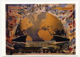 PAP Affiche Aurour Du Monde Sur Carte Postale - Postal Stamped Stationery