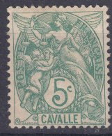 Cavalle 1902 Yvert#10 Mint Hinged - Cavalle (1893-1911)