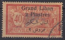 Grand Liban, Great Lebanon 1924 Yvert#31 Used - Used Stamps