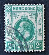 GEORGE V - 1912/21 - OBLITERE - YT 100 - VARIETE D'OBLITERATION - Used Stamps