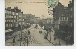 CLERMONT FERRAND - Le Boulevard Desaix - Clermont Ferrand