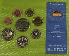 Série Les Dernières Monnaies En Mark - 8 Pièces - Sup - - Mint Sets & Proof Sets