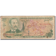 Costa Rica, 5 Colones, 1968-1972, 1978-06-01, KM:236d, B - Costa Rica