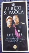 40 Ans De Mariage Albert&Paola : Monnaie Commémorative 250 Francs - 1999 - Quality Proof - 1993-...: Albert II