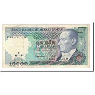 Turquie, 10,000 Lira, 1982, KM:199, TTB - Turchia