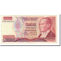 Turquie, 20,000 Lira, 1988, KM:201, SUP - Türkei
