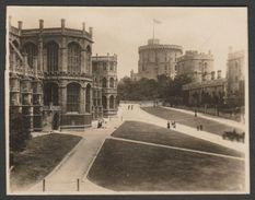 St George's Chapel & Round Tower, Windsor Castle, C.1900s - Photograph - Places