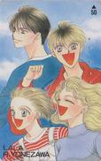 Télécarte Japon / 110-011 - LALA By RIKA YONEZAWA - MANGA ANIME - Japan Phonecard - BD COMICS Telefonkarte - 8228 - Comics