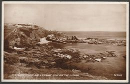 Lighthouse & Lifeboat Station The Lizard, Cornwall, 1938 - Valentine RP Postcard - Other
