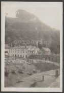 The Harbour & Red Lion Hotel, Clovelly, Devon, 1924 - Photograph - Places