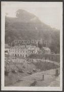 The Harbour & Red Lion Hotel, Clovelly, Devon, 1924 - Photograph - Lieux