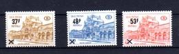 1970    Gares,  CF 404 / 406** (1 Raté Pt Colle 404) Cote 65 € - 1952-....