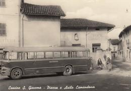 "10922-CASCINE S.GIACOMO(VERCELLI)-PIAZZA E ASILO CAMANDONA""-CORRIERA-FG - Vercelli"