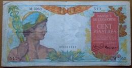 Indochine 100 Piastres - Indochina