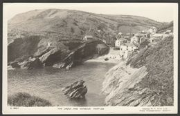 The Jacka And Harbour, Portloe, Cornwall, 1954 - Ellis RP Postcard - Other