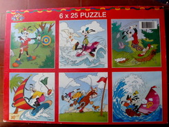 PUZZLE MICKEY KIDS 6 Puzzles De 25 Pièces - Puzzle Games