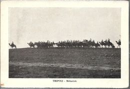 TRIPOLI MEHARISTI STAMPA CIRCA 1895 LIBIA OCC. ITALIANA - Libië