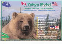 Yukon Motel, TESLIN, YUKON, YK, CA, CANADA, CANADIAN POSTCARD POST CARD, Carte Postale - Yukon