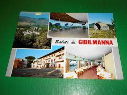 Cartolina Saluti Da Gibilmanna - Vedute Diverse 1971 - Palermo