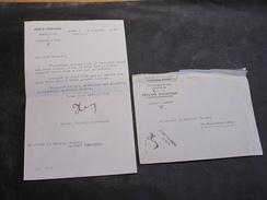 Lettre Au COLONEL DELREZ De ST-REMY ARGENTEAU-2/7/36- Du Ministère Défense.Signé BLERO Dir.Général Suite Décès Du Fils - Documents