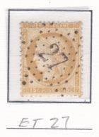 Etoile 27 Sur 55 - Marcophilie (Timbres Détachés)