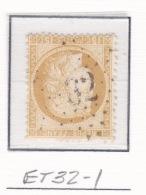Etoile 32-1 Sur 55 - Marcophilie (Timbres Détachés)