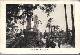 TRIPOLI POZZO ARCELIO AMPA CIRCA 1912 LIBIA OCC. ITALIANA - Libië