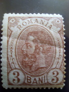 CAROL I, 1893/89  ROMANIA Unused With Gumm, WITH FILIGRAM ``PR`` - 1881-1918: Carol I.