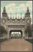 The Pavilion, Franco-British Exhibition, London, 1908 - Valentine's Postcard - Exhibitions