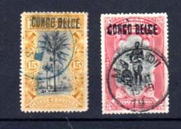 1909    Mols Surcharge Locale, 15c Et 5F Ø   32 L Et 38 L Cote 95 Euros  Très Beau 5F - 1894-1923 Mols: Oblitérés