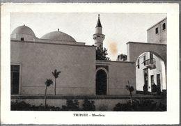 TRIPOLI  MOSCHEA STAMPA CIRCA 1912 LIBIA OCC. ITALIANA - Libië