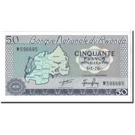 Rwanda, 50 Francs, 1976, 1976-01-01, KM:7c, NEUF - Rwanda