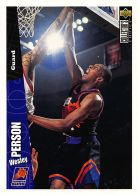 Wesley Person - Upper Deck 1996-97 Collector's Choice - N.125 - Singles (Simples)