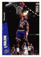 Karl Malone - Upper Deck 1996-97 Collector's Choice - N.155 - Singles (Simples)