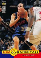 Danny Ferry FUND - Upper Deck 1996-97 Collector's Choice - N.170 - Singles (Simples)