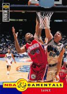 Derrick Coleman FUND - Upper Deck 1996-97 Collector's Choice - N.185 - Singles (Simples)