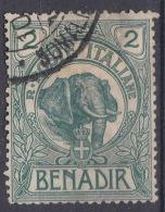 Italy Colonies Somalia 1903 Sassone#2 Used - Somalie