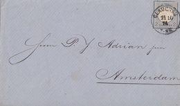 DR Brief EF Minr.20 K1 Glauchau 21.10.74 Gel. Nach Holland - Briefe U. Dokumente
