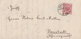 DR Brief EF Minr.47 KOS Kappel (Schwarzwald) 4.3.92 - Deutschland