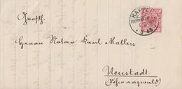 DR Brief EF Minr.47 KOS Kappel (Schwarzwald) 4.3.92 - Briefe U. Dokumente
