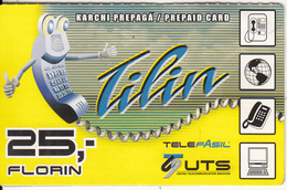 CURACAO - Tilin, UTS Prepaid Card 25 Fl, Exp.date 31/12/07, Used - Antilles (Netherlands)