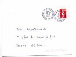 Lettre Cachet La Roche Morey - Postmark Collection (Covers)