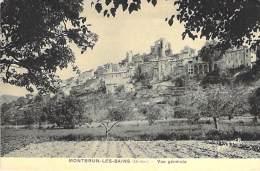 26 - MONTBRUN LES BAINS : Vue Générale - CPA - Drôme - Francia