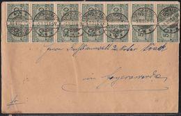 DR Brief Mef Minr.20x 321A Wittichenau 9.11.23 Gel. Nach Hoyerswerda - Allemagne