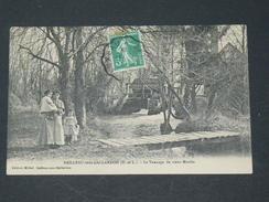 BAILLEAU SOUS GAILLARDON / ARDT CHARTRES   1910 / LE VANNAGE DU VIEUX MOULIN / CIRC OUI / EDIT SUR PHOTO - France